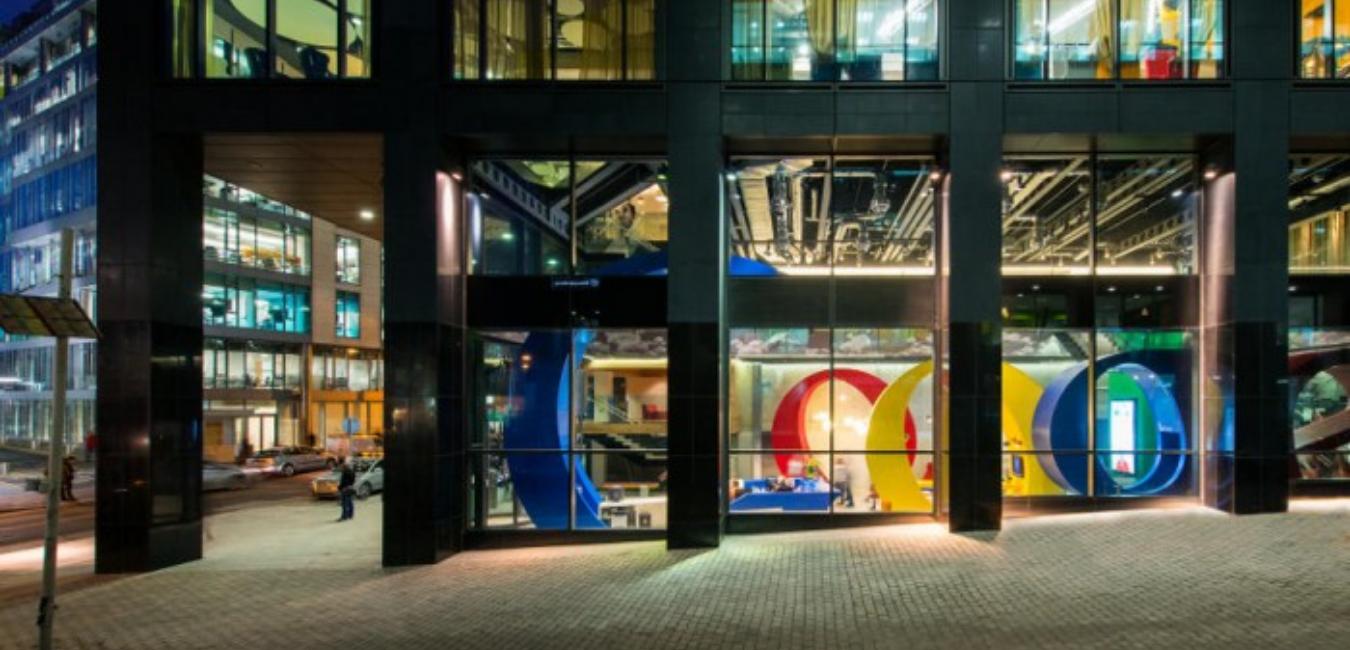 Google Ofisi – Eğlenceli ve İlham Verici Tasarım